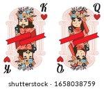 King   Queen Of Heart  Deck Of...