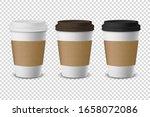 vector 3d realistic disposable... | Shutterstock .eps vector #1658072086