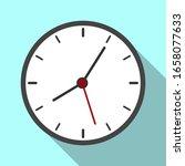 clock logo graphic design...   Shutterstock .eps vector #1658077633