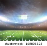 light of stadium | Shutterstock . vector #165808823