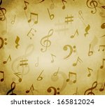 grungy old background with... | Shutterstock . vector #165812024