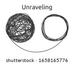 unraveling the problem. a... | Shutterstock .eps vector #1658165776
