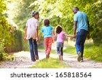 grandparents with grandchildren ...   Shutterstock . vector #165818564