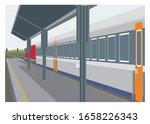 Passenger Train Stops At...