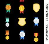 awards set stock vector...   Shutterstock .eps vector #1658252809