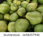 close up of fresh pomelo fruits ... | Shutterstock . vector #1658257930