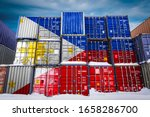 The national flag of Philippines