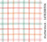 gingham seamless pattern.... | Shutterstock .eps vector #1658288506