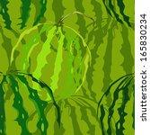 seamless texture of juicy... | Shutterstock .eps vector #165830234