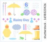 Rainy Day Vector  Sets Rain...