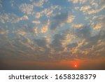 beautiful clouds sky at sunrise ... | Shutterstock . vector #1658328379