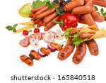Sausages Still Life Concept  ...