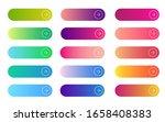 web gradient button. flat... | Shutterstock . vector #1658408383