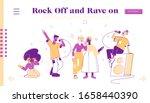 people relax in karaoke club... | Shutterstock .eps vector #1658440390