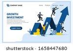 modern flat web page design...   Shutterstock .eps vector #1658447680