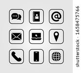contact icon for information... | Shutterstock .eps vector #1658475766