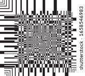 asimetrycal windmill fan... | Shutterstock .eps vector #1658546983