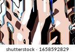 festive decoration. colorful... | Shutterstock . vector #1658592829