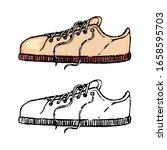 hand drawn vector illustration. ... | Shutterstock .eps vector #1658595703