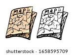 hand drawn vector illustration. ... | Shutterstock .eps vector #1658595709