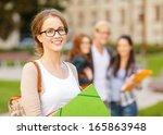 summer holidays  education ... | Shutterstock . vector #165863948
