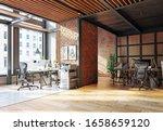 Contemporary Loft Office...