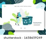 landing page recycling solution ...