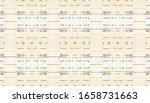 seamless handmade stripes.... | Shutterstock . vector #1658731663
