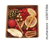 Christmas Themed Potpourri In A ...