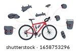 set of vector illustrations of... | Shutterstock .eps vector #1658753296