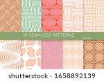 simple geometric texture....   Shutterstock .eps vector #1658892139