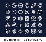 set universe icon outline style ...