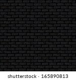 grunge and damaged brick wall... | Shutterstock .eps vector #165890813