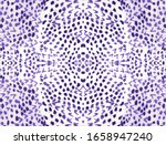 Python Print Seamless. Lavende...