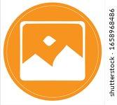 image gallery icon symbol.... | Shutterstock .eps vector #1658968486