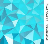 blue triangle geometric pattern.... | Shutterstock .eps vector #1659021943