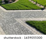Nested Pavers Of Various Colors ...
