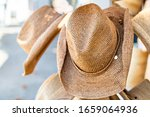 Shopping For Straw Beach Hat...