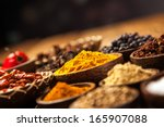 a selection of various colorful ... | Shutterstock . vector #165907088