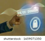 text sign showing ux or ui...