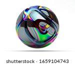 3d render of abstract art of... | Shutterstock . vector #1659104743