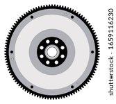 flywheel. car transmission... | Shutterstock .eps vector #1659116230