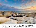 Rocks on coast  gothenburg ...
