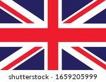 vector united kingdom flag ... | Shutterstock .eps vector #1659205999
