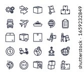 line style icon set design ... | Shutterstock .eps vector #1659232849