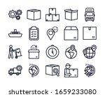 line style icon set design ... | Shutterstock .eps vector #1659233080