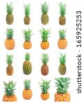 collection of ripe tasty... | Shutterstock . vector #165925253