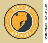 design template_hiking... | Shutterstock .eps vector #1659347686