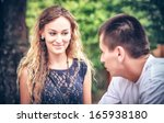 unexpected acquaintance of... | Shutterstock . vector #165938180