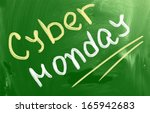 cyber monday concept | Shutterstock . vector #165942683